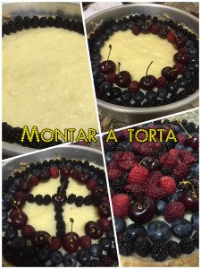 TORTA DE FRUTAS VERMELHAS - Como montar a torta de frutas vermelhas @bakeandcakebr