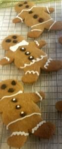 Gingerbreads decorados - fonte: do forno para a mesa, Ed. Publifolha