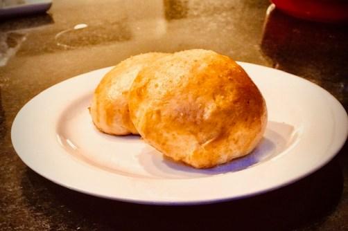 pão de batata recheado