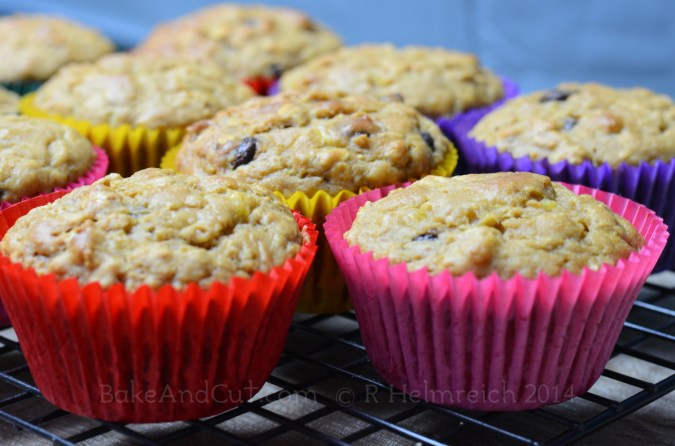 Cooked muffins