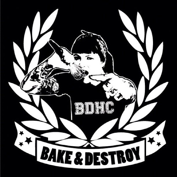 Bake and Destroy logo