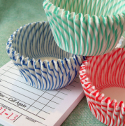 Cute cupcake papers - they're like crack.