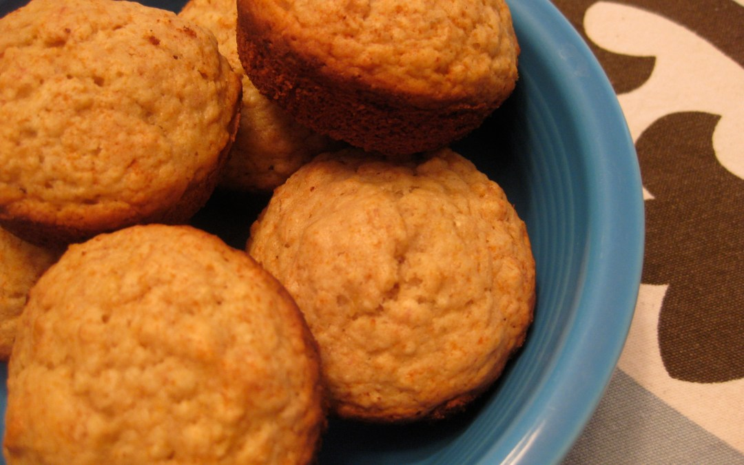 Vegan Maple Oatmeal Muffins