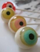 eyeball lollipop candy handmade suckers Halloween