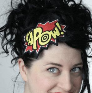 comic book headband