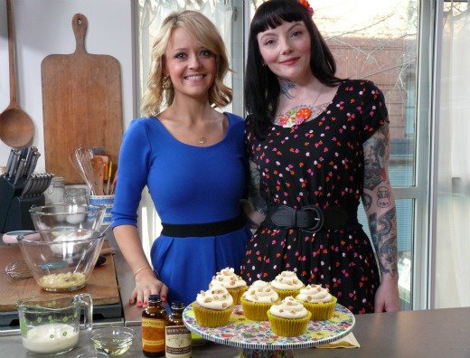 Cooking Channel Kelsey Nixon Natalie Slater Bake and Destroy