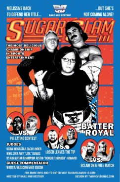 SugarSlam poster by Two Reverends