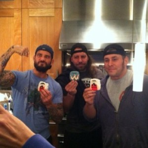 CM Punk Colt Cabana Cliff Compton Over the Top cookies