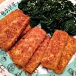 vegan dorito-crusted tofu