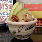 vegan taffy apple salad