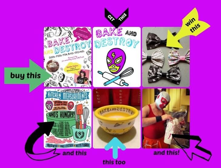 bake and destroy pre-order giveaway