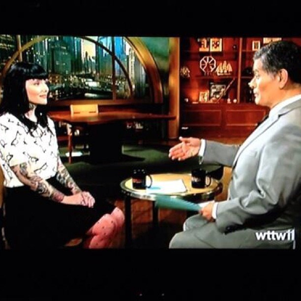 Talking Vegan Food on WTTW Chicago Tonight