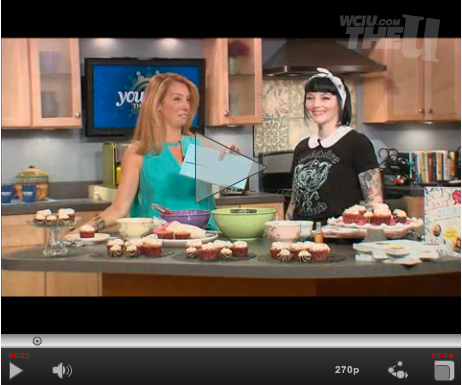 Celebrating National Cupcake Day on You & Me This Morning