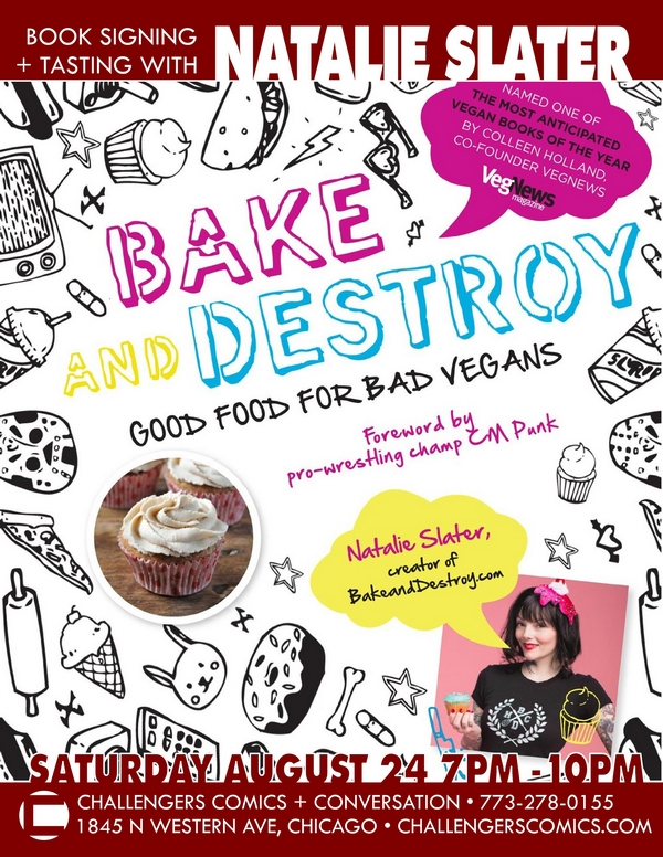 bake and destroy book release p