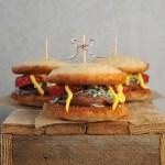 Vegan BurgerTime Whoopie Pies