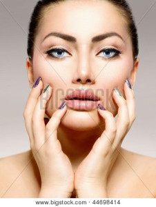 Most stock images for skincare are terrifying, which is why I don't use them.