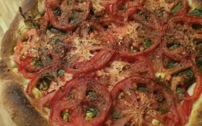Vegan Deep Dish Breakfast Pizza