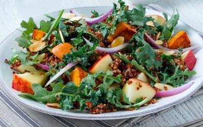Vegan Maple Quinoa Salad Recipe