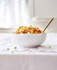 vegan sriracha mac and cheese