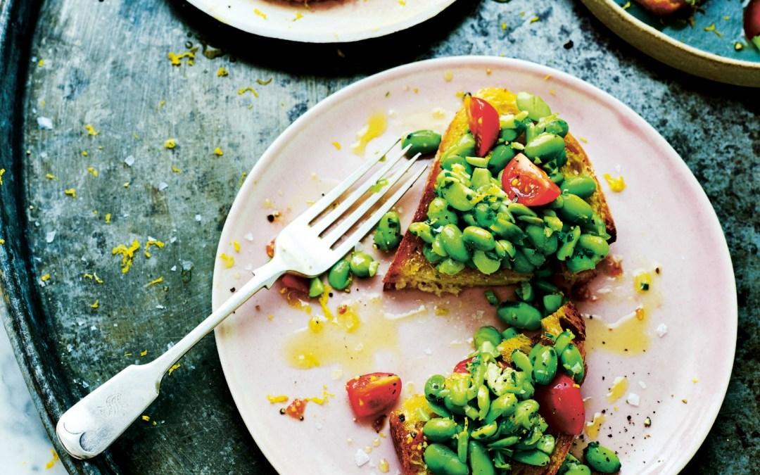 15 Minute Vegan: Edamame Beans on Toast