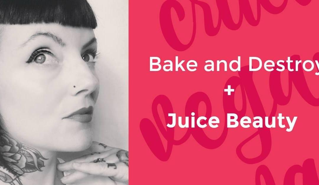 The Bake and Destroy Juice Beauty Vegan Skincare & Beauty Mixer