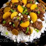 Ginger Beef with Mandarin Oranges