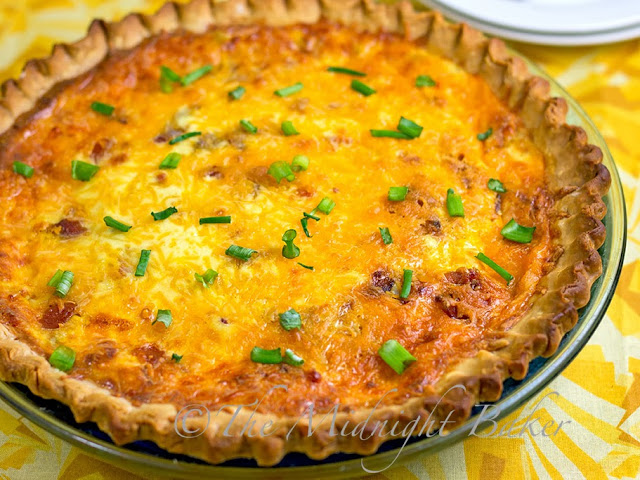 Double Cheese Bacon Pie | bakeatmidnite.com | #meatpies #bacon #cheese #baconpie