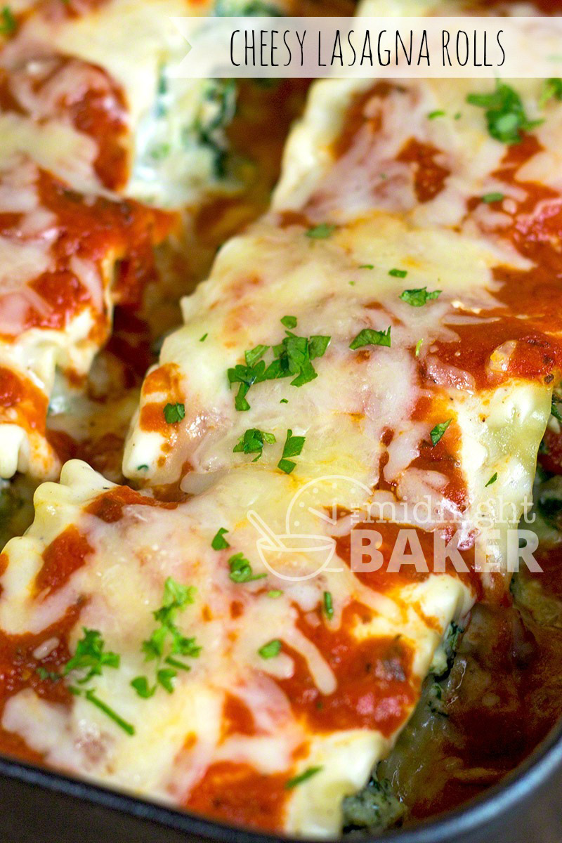 Easy to make lasagna dinner where you can use leftovers