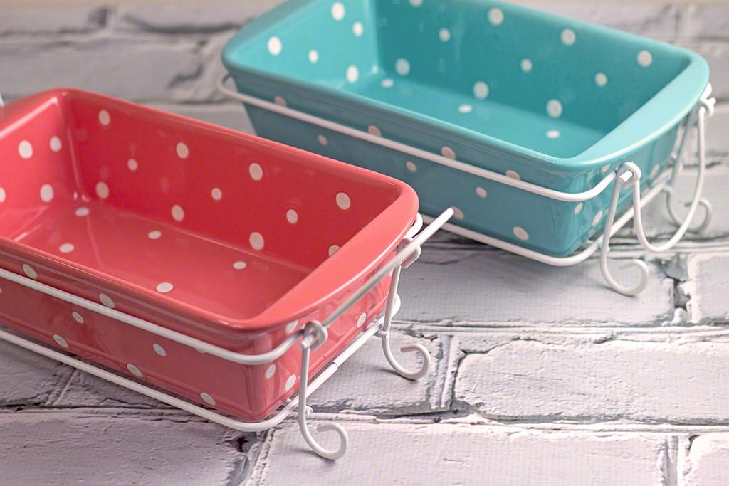 Temp-Tations by Tara Polka Dot Loaf Pans #Temp-TationsByTara #bakeware #Giveaway