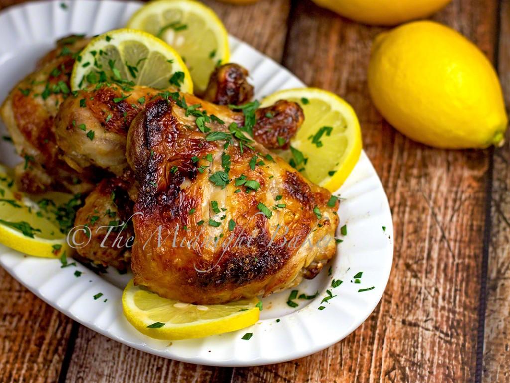 Lemon Chicken | bakeatmidnite.com | #chicken #lemonchicken #healthyrecipe