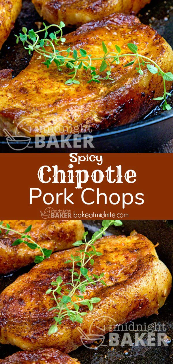Quick and easy pork chops with that great smoky chipotle taste!