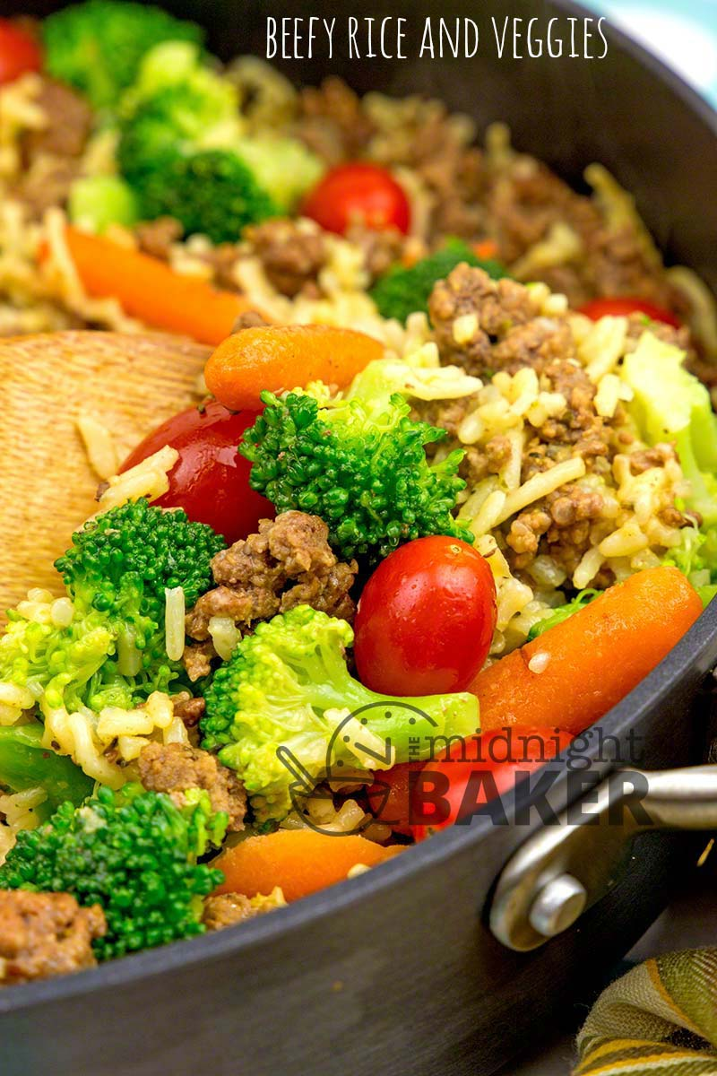 Quick, easy and delicious one-skillet dinner.