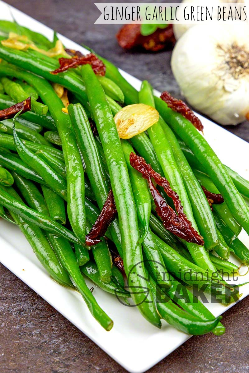 Ramp up plain green beans with the bright taste of ginger.