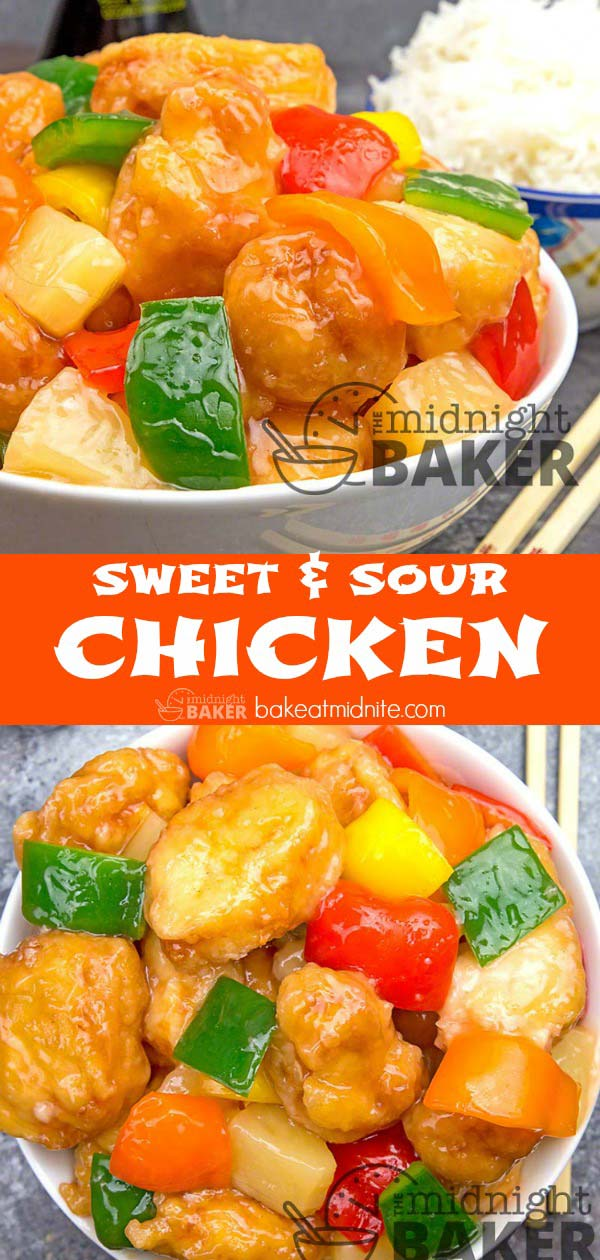 Authentic sweet and sour chicken that the family will love.