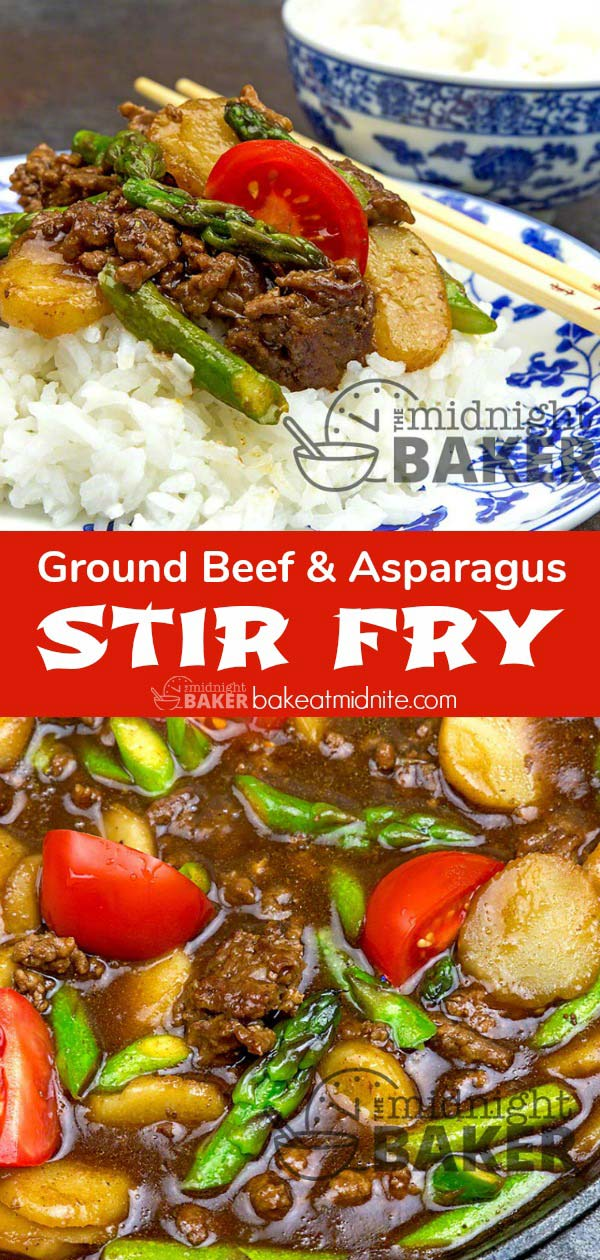 Here's an easy and delicious ground beef stir fry that comes together in no time at all.