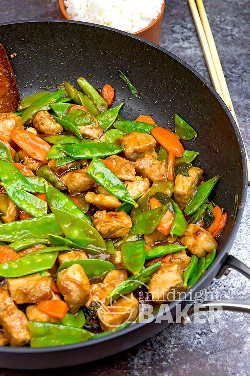 Sweet and sour pork dinner that's quick, easy and delicious!