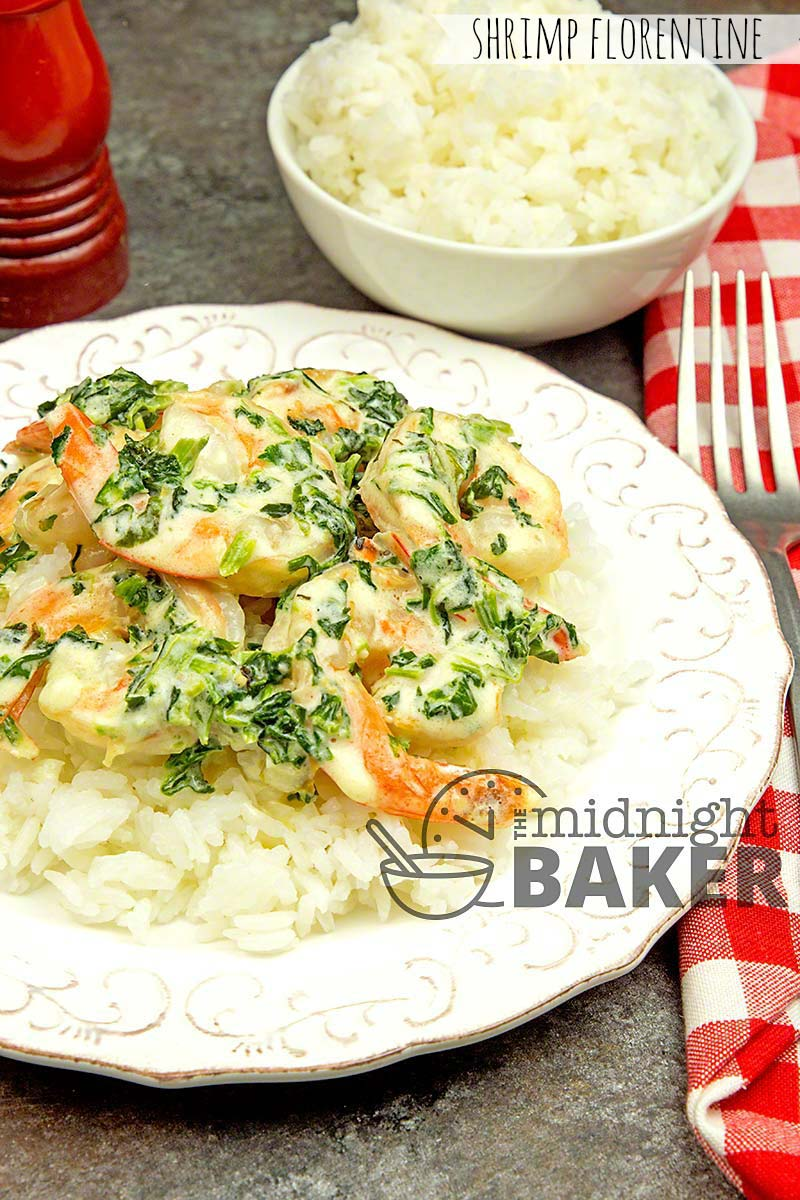 Delicious shrimp with a florentine flairthat's easy and economical enough for a mid-week meal.