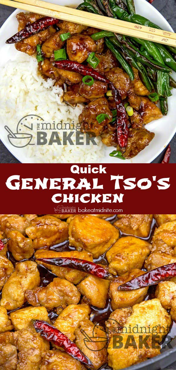 Skip the takeout joint and make this easy General Tso's chicken in your own kitchen