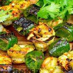 Garlic, cilantro, citrus and a hint of bourbon make these shrimp irresistible.