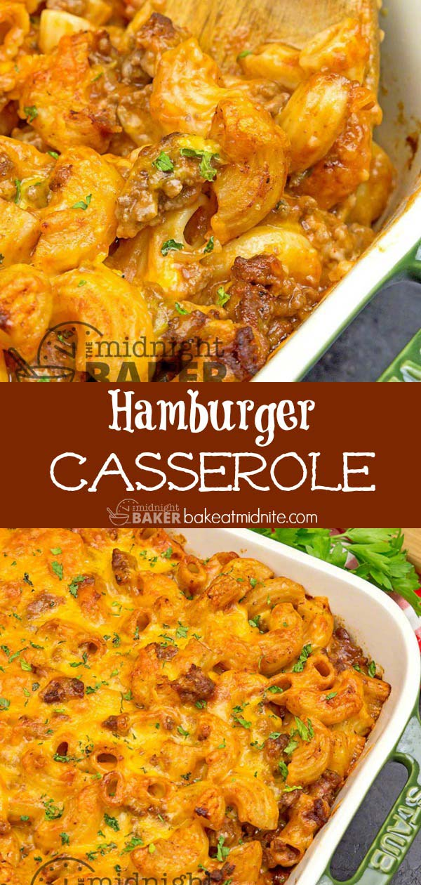 Great taste from budget ingredients. This hamburger casserole is sure to please.