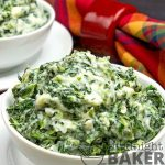 Creamed spinach is one of the most beloved side dishes and this one is even richer!