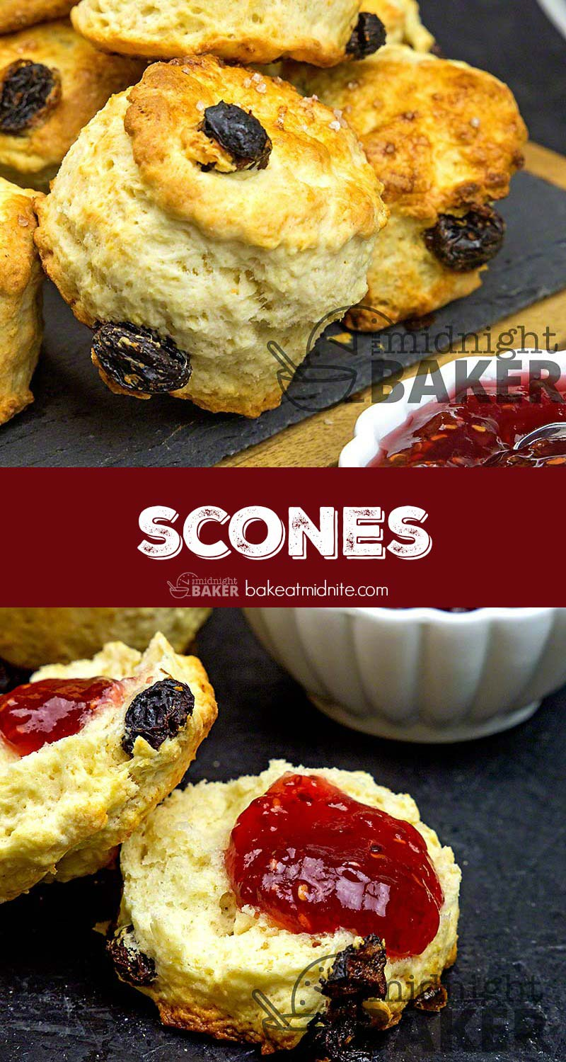 Easy to make tasty scones. Liven up your afternoon tea.