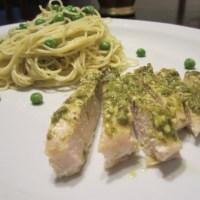 Pesto Chicken & Pea Pasta