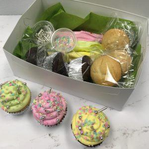 Spring Cupcake Box
