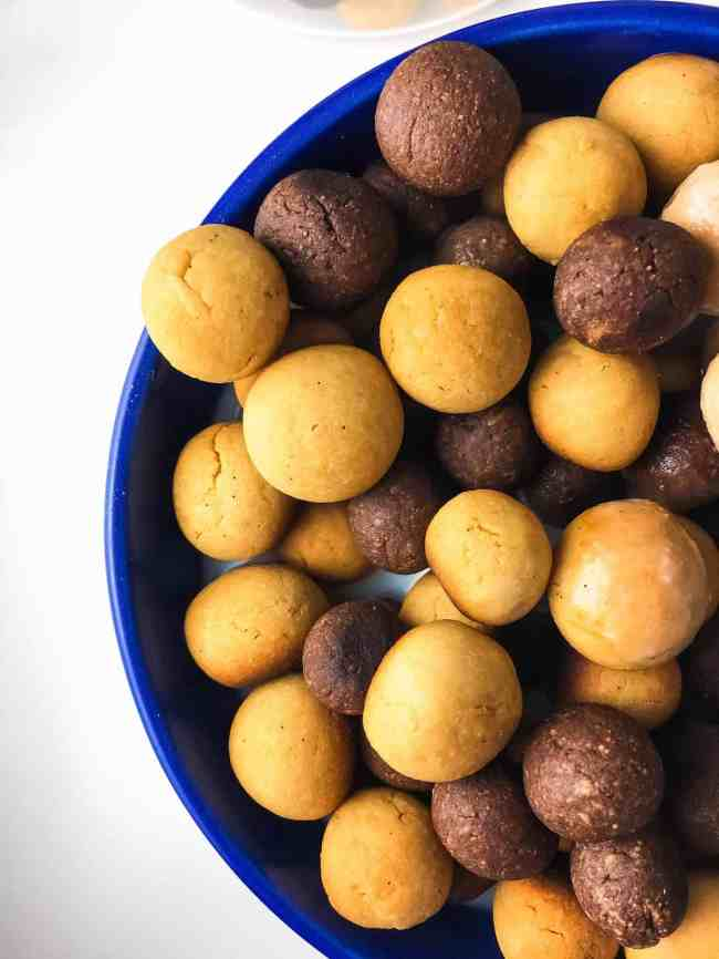 Healthier homemade reeses puffs cereal baked ambrosia once in a while im feeling nostalgic and get a craving for my favorite childhood foods peanut butter and chocolate are one of my favorite combinations ccuart Choice Image