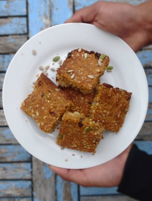 high protein flapjacks