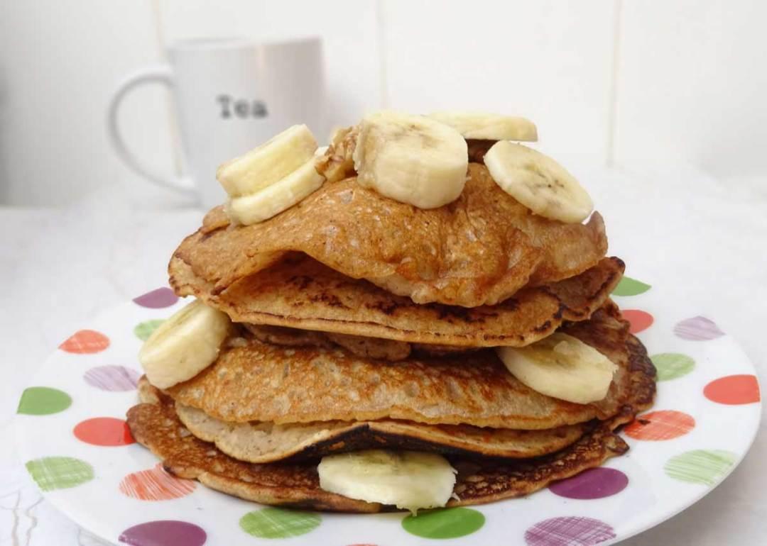 vegan banana pancakes recipe