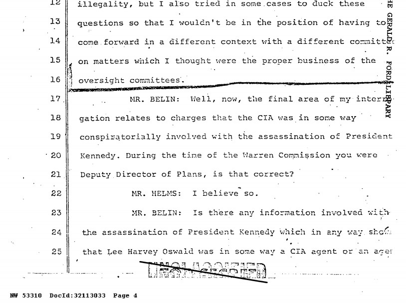 oswald was agent of cia or