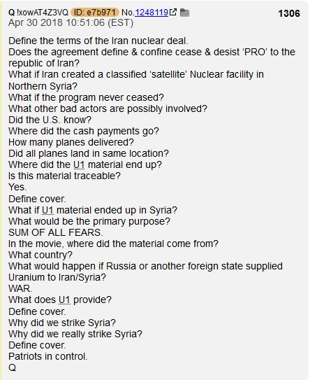 Q The Basics By Anons Sum Of All Fears