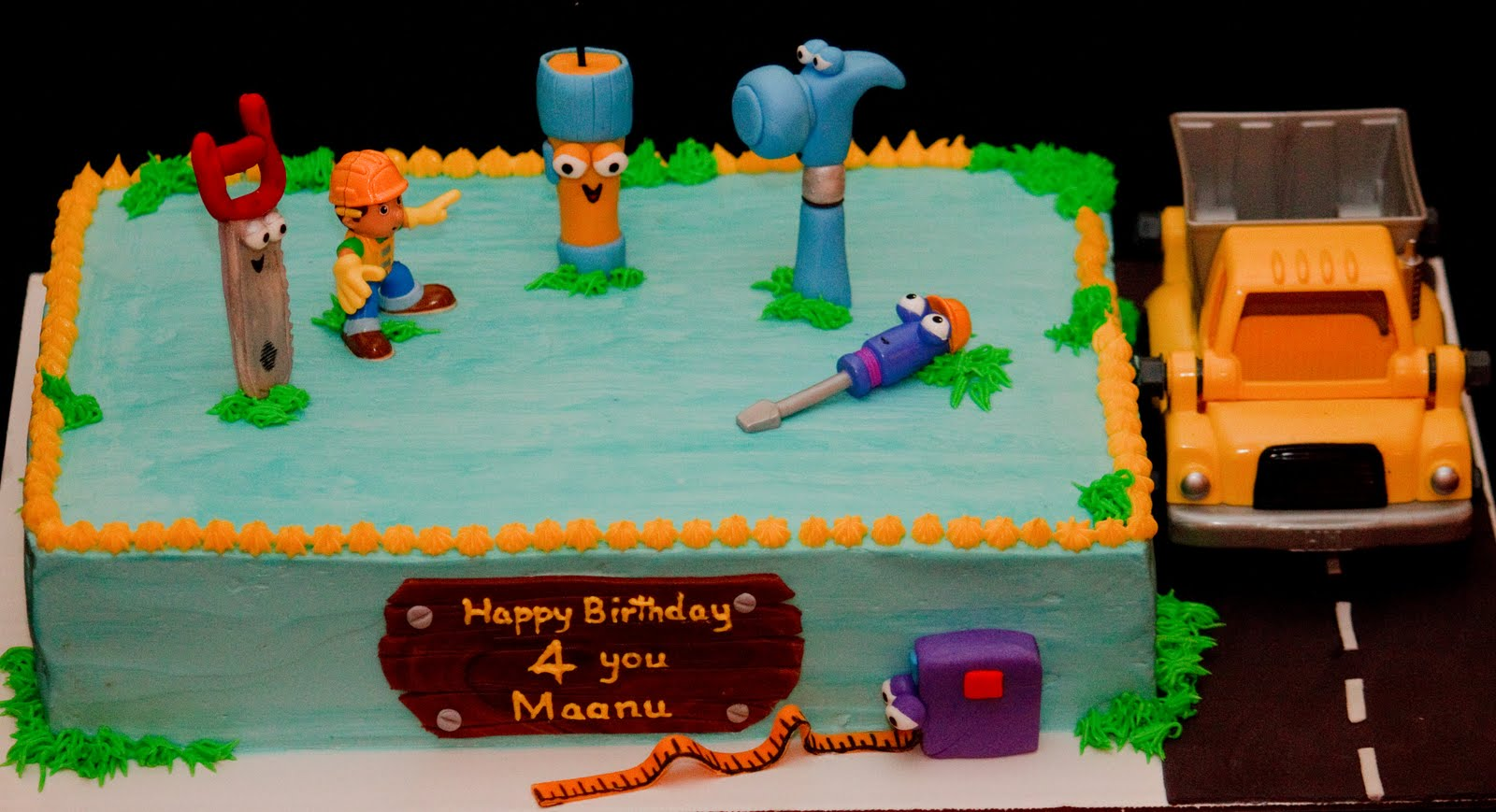 Handy Manny Cake Baked In Heaven